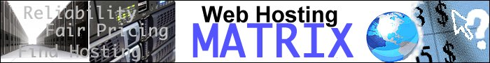 web hosting matrix