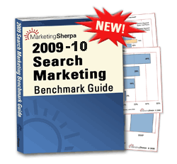 Marketing Sherpa's - Search Marketing Benchmark Report 2009-10