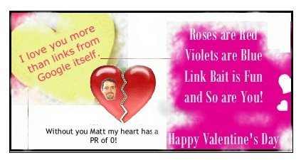 SEOValentinesDayeCards2007 Its Valentines Day! Yes, TODAY!
