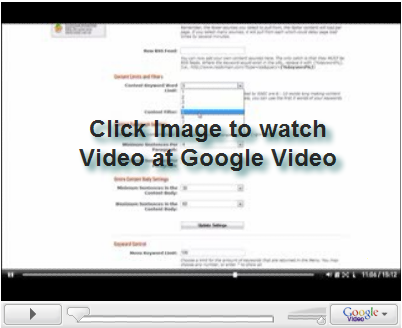 sej spamtoolvideo Spam for the Search Engines and a Smile for Matt Cutts